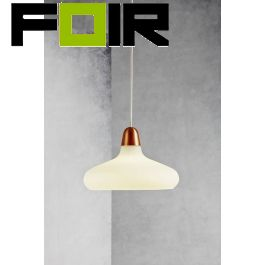 Nordlux 'Bloom 29' hanglamp opaal glas E27 29cm
