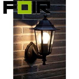 Nordlux buitenlamp 'Cardif' E27 fitting buitenlamp zwart klassiek ontwerp