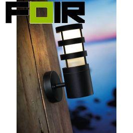 Nordlux 'Darwin' E27 fitting buitenlamp zwart wandlamp