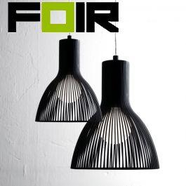 Nordlux 'Emition 17' hanglamp zwart E14 170mm