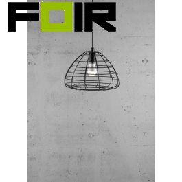 Nordlux 'Esk' kooilamp hanglamp E27 fitting zwart