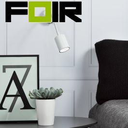 Nordlux 'Explore' slaapkamer lamp wit GU10 verstelbaar led