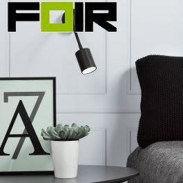 Nordlux 'Explore' flex slaapkamer lamp zwart 3W led  verstelbaar