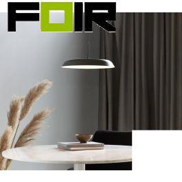 Nordlux 'Piso' hanglamp modern grijs 22W led lamp (dim to warm) 360mm