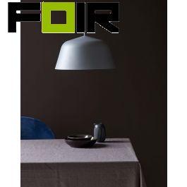 Nordlux 'Ella 40' hanglamp grijs E27 fitting modern 400mm