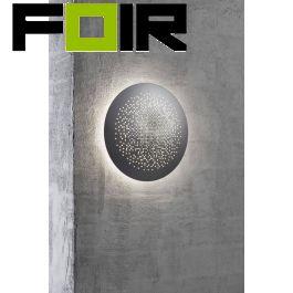 Nordlux 'Hunt 26' Grijs aluminium led lamp 10W IP44 waterdicht 260mm