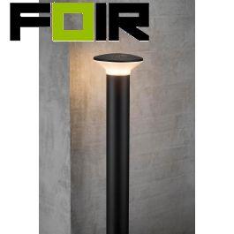 Nordlux 'Hunt' staande lamp buiten zwart aluminium 780mm