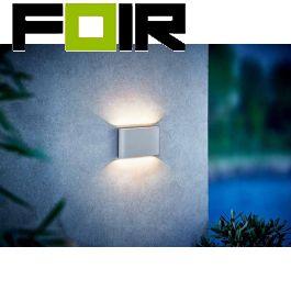 Nordlux gevelverlichting 'Kinver' wit wandlamp 6W 3000K warm wit