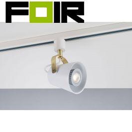 Nordlux 'Link Fez' GU10 1 Fase trackspot aluminium Wit