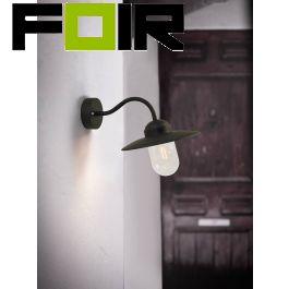 Nordlux 'Luxembourg' buitenlamp voordeur zwart E27 fitting klassiek