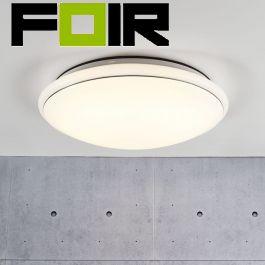 Nordlux 'Melo 40' plafondlamp LED lamp 18W wit 400mm