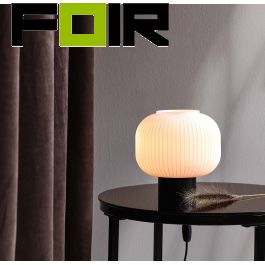 Nordlux 'Milford' tafellamp zwart E27 fitting Tafellamp E27 zwart 48965001