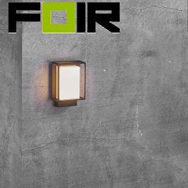 Nordlux 'Nestor' zwart 8W LED wandlamp voordeurverlichting IP44