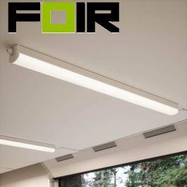 Nordlux 'Oakland 60' LED Lichtbalk buislicht 65cm 12W neutraal wit 4000K