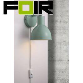 Nordlux wandlamp 'Pop' groen wandlamp verstelbaar leeslamp E27 fitting 215mm