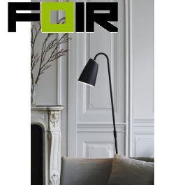 Nordlux 'Sway' staande lamp vloerlamp zwart E27 met schakelaar 151cm