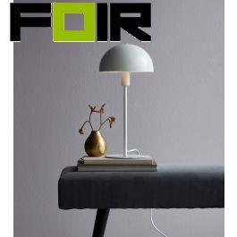 Nordlux 'Ellen' tafellamp wit modern E14 fitting 405mm