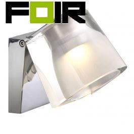 Nordlux 'IP S12' 83051033 LED badkamerlamp 5W Aluminium chromeIP44