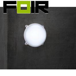 Nordlux 'Moon Rond' LED plafondlamp wandlamp 22cm 20W IP65