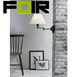 Nordlux 'Break' wandlamp E27 fitting wandlamp zwart verstelbaar