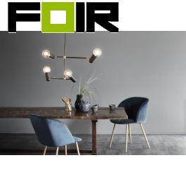 Nordlux 'Manhattan' Hanglamp zwart goud E27 Design for the People