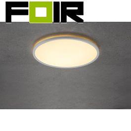 Nordlux 'Oja' LED plafondlamp rond warm wit 22W dimbaar 2100Lm 2700K warm wit