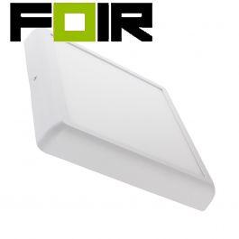 Led paneel opbouw paneel Vierkant wit design 24W LED 300mm