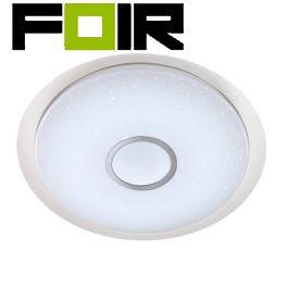 Wofi plafondlamp groot 'Minor' sterren hemel LED plafondlamp 25W wit 625mm