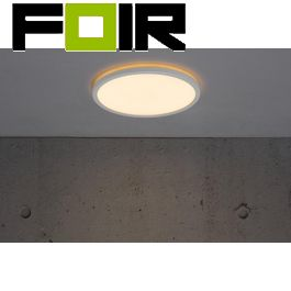 Nordlux 'Oja' Bronx LED Plafondlamp wit 18W 1600Lm 2700K warmwit