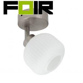 Plafondspot / plafondlamp verstelbaar 'Emma' G9 fitting 165mm