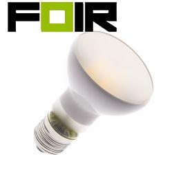 R63 E27 3.5W matte LED lamp (dimbaar)