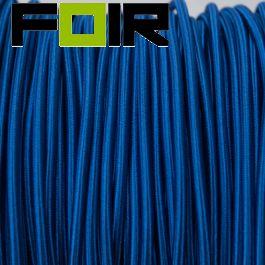 Strijkijzersnoer Royal Blauw rond