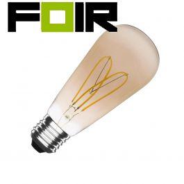ST64 E27 4W Big Lemon gouden gloeidraad LED lamp (dimbaar)