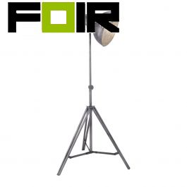 Vloerlamp ijzer 'Samia' industrieel LeuchtenDirekt E27