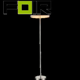 Vloerlamp staande lamp 'Paco' E27 fitting 160cm
