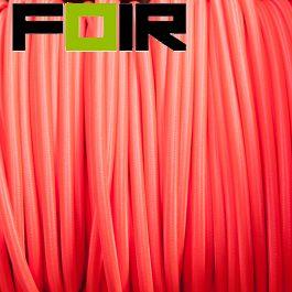 Strijkijzersnoer Fluor roze rond