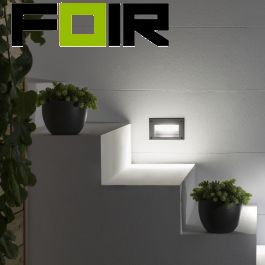Tuinpadverlichting trapverlichting zwart IP65