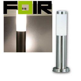 Staande tuinlamp aluminium E27 fitting 45cm 9W IP44