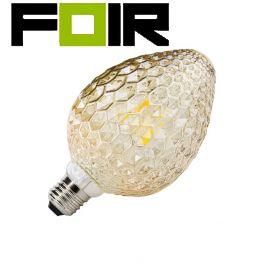 Design led lamp E27 fitting glas design 6W