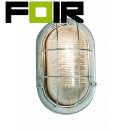 Davey Lighting 'Bulkhead' E27 fitting buitenlamp 245mm IP54