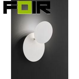 Wofi wandlamp 'Sligo' wit verstelbaar modern led lamp 6W 180mm