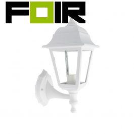 Mini Cottage wandlamp met lage ondersteuning wit