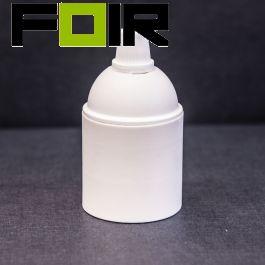 Witte plastic bakeliet E27 fitting