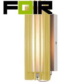 Wofi 'Jardin' wandlamp hout E27 fitting modern 330mm