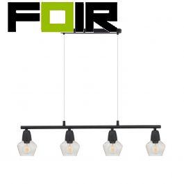Hanglamp 'Hodgson' tafellamp vier lampen E14 fitting