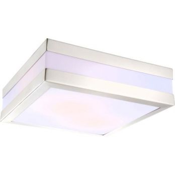 Wandlamp voordeur wit modern led lamp E27 fitting