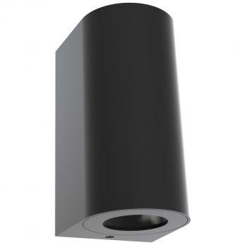 Nordlux canto maxi 2 gevelverlichting zwart modern