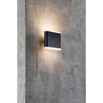 Gevelverlichting antraciet akron 11 nordlux modern buitenlamp