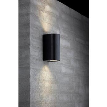 Nordlux Asbol wandlamp antraciet zwart modern