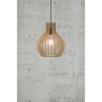 Nordlux Groa hout hanglamp E27 fitting 310mm